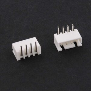 Conector molex jst XH2.54 para pcb 4 vias 5 piezas