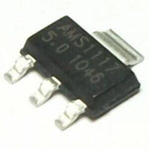 AMS1117-5.0 – Regulador SMD de 5 V SOT-223