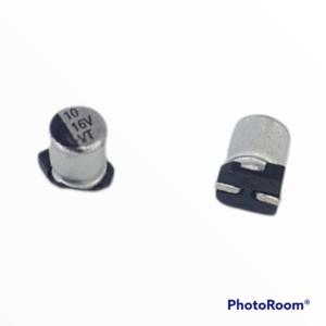 Capacitor electrolítico SMD 10uf 16V