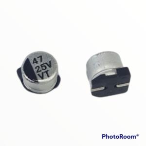 Capacitor electrolítico SMD 47uf 25V